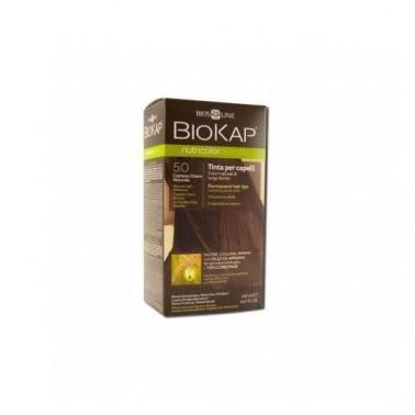 Tinte Castaño Claro Natural 5.0 DELICATO Biokap, 140 ml