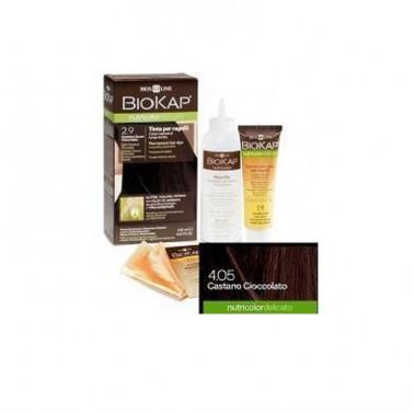 Tinte Castaño Oscuro Chocolate 2.9 DELICATO Biokap, 140 ml