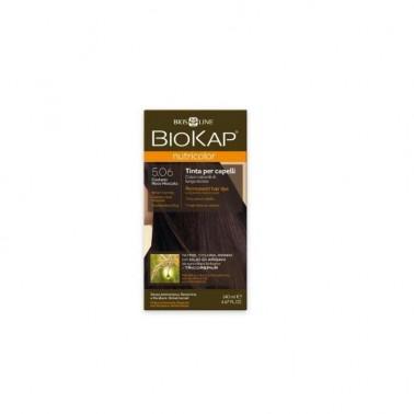Tinte Coper Brown Castaño Nuez Moscada 5.06 Biokap, 140 ml