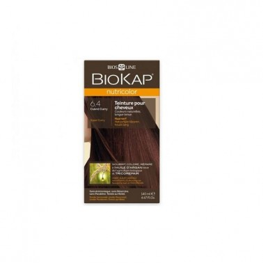 Tinte Coper Curry Dye Cobrizo CUrry 6.40 Biokap, 140 ml
