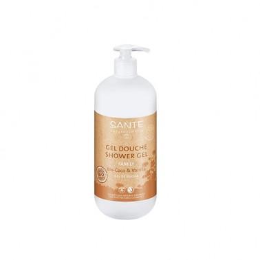Gel de ducha coco-vainilla BIO Sante, 500 ml.
