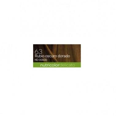 Tinte Rubio Dorado Oscuro 6.30 DELICATO Biokap, 140 ml