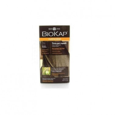 Tinte Swedish Blond Dye Rubio Sueco 7.1 Biokap, 140 ml.