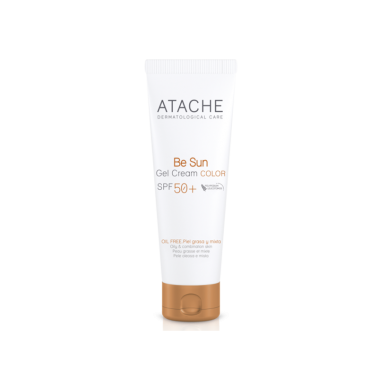 Be Sun Gel-Crema Color SPF 50+ Atache, 50 ml.