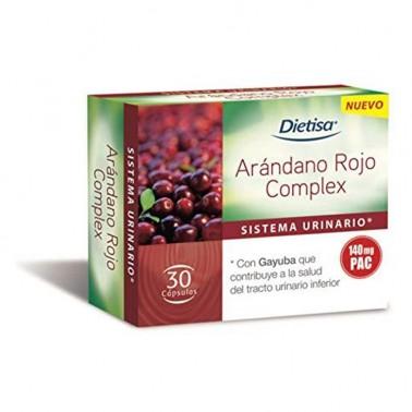 Arándano Rojo Complex Dietisa, 30 cap.