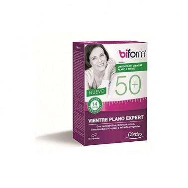 Biform 50 Vientre Plano Expert Dietisa, 48 cap.