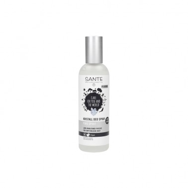 Desodorante Mineral Pure Spirit Spray Sante, 100 ml.