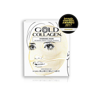 Gold Collagen Hydrogel Mask, 4 un.