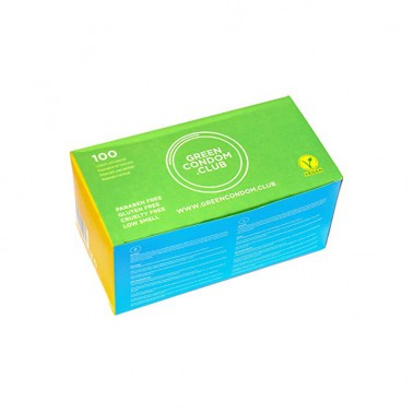 Preservativos veganos Green Condom Club, 100 un.