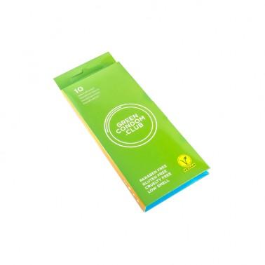 Preservativos veganos Green Condom Club, 10 un.