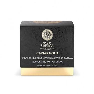 Caviar Gold Crema de Día Rejuvenecedora Natura Siberica, 50 ml.