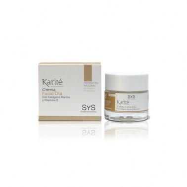 Crema Facial Manteca de Karité Laboratorio SYS, 50 ml.