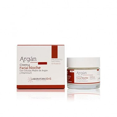 Crema Facial Noche Argán Laboratorio SYS, 50 ml.