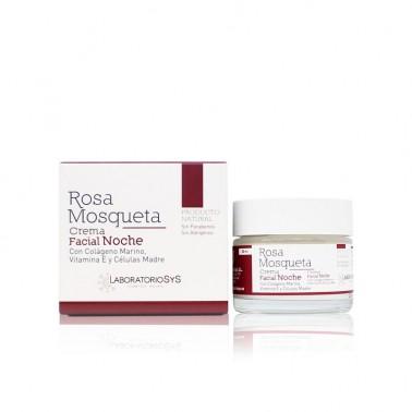 Crema Facial Noche Rosa Mosqueta Laboratorio SYS, 50 ml.