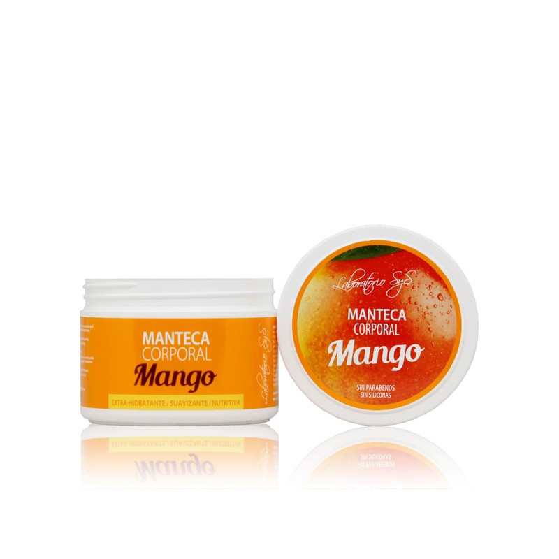 Manteca Corporal Mango Laboratorio SYS, 250 ml.