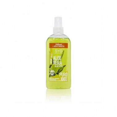 Spray Emergencia Aloe Vera Puro Laboratorio SYS, 200 ml.