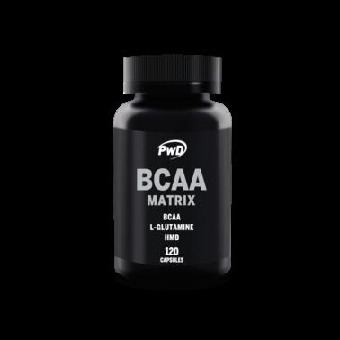 BCAA Matrix PWD Nutrition, 120 cap.
