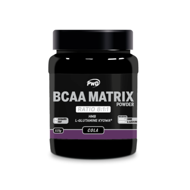 BCAA Matrix Sabor Cola PWD Nutrition, 525 gr.