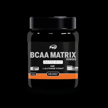 BCAA Matrix Sabor Naranja PWD Nutrition, 525 gr.