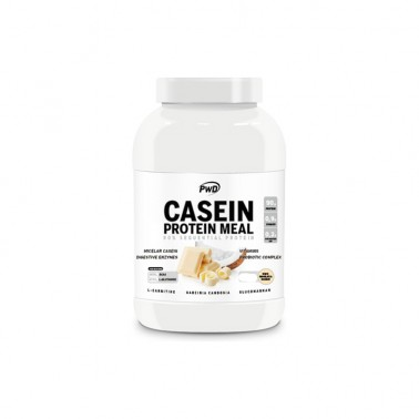 Casein Protein Meal Chocolate Blanco con Coco PWD Nutrition, 450 gr.