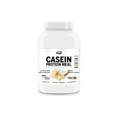 Casein Protein Meal Chocolate Blanco con Coco PWD Nutrition, 1,5 Kg