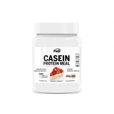 Casein Protein Meal Tarta de Queso PWD Nutrition, 450 gr.