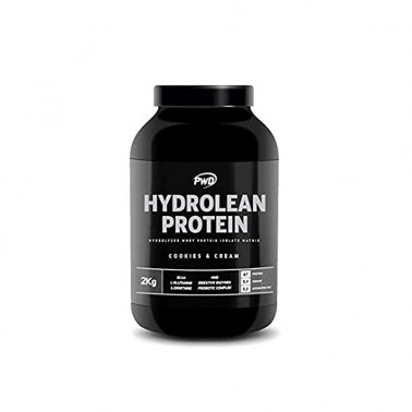 Hydrolean Protein Cookies Cream PWD Nutrition, 2 Kg.