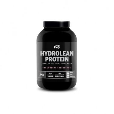 Hydrolean Protein Fresa PWD Nutrition, 2 Kg.