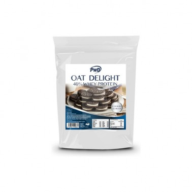 Oat Delight 40% Whey Protein Cookies-Cream PWD Nutrition