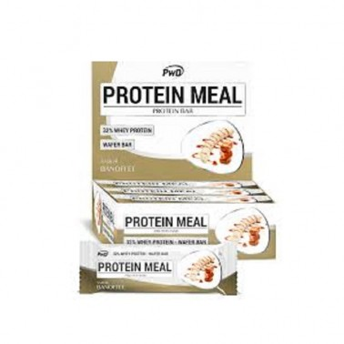 Protein Meal Banofee PWD Nutrition, 12 barritas