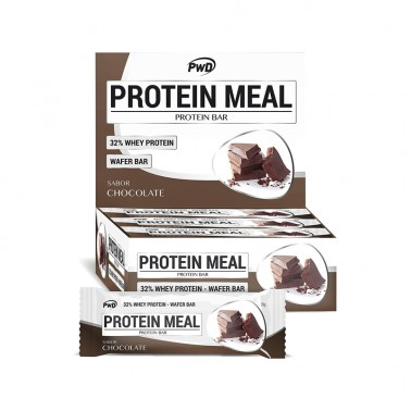 Protein Meal Chocolate PWD Nutrition, 12 barritas