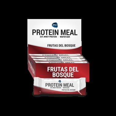 Protein Meal Frutas del Bosque PWD Nutrition, 12 barritas