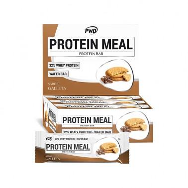 Protein Meal Galleta María PWD Nutrition, 12 barritas