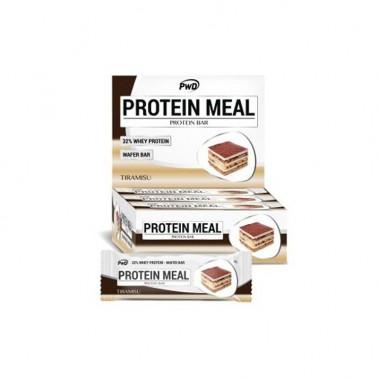 Protein Meal Tiramisú PWD Nutrition, 12 barritas