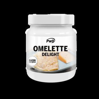 Omelette Delight Bacon con Queso PWD Nutrition