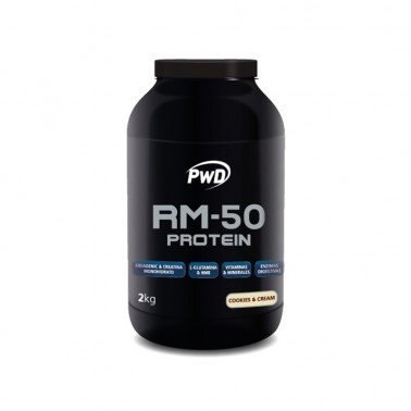 RM-50 Protein Cookies Cream PWD Nutrition