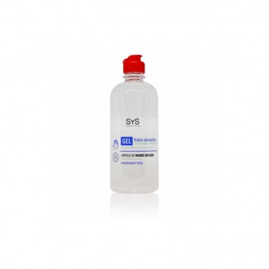 Gel Hidroalcoholico Desinfectante de manos Laboratorio SYS, 500 ml.