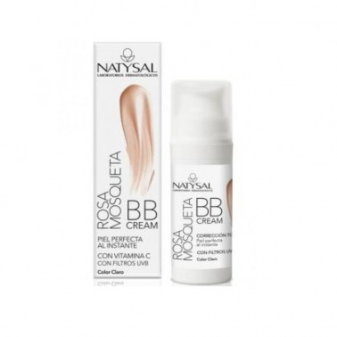 BB Cream Rosa Mosqueta Airless Natysal, 30 ml.