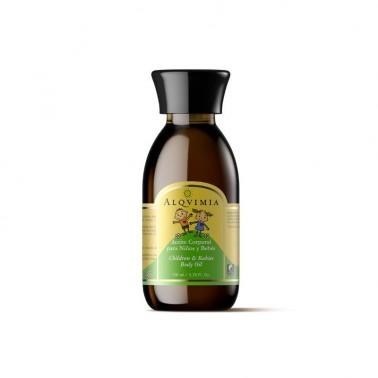 Aceite Corporal Niños y Bebés Alqvimia, 150 ml.