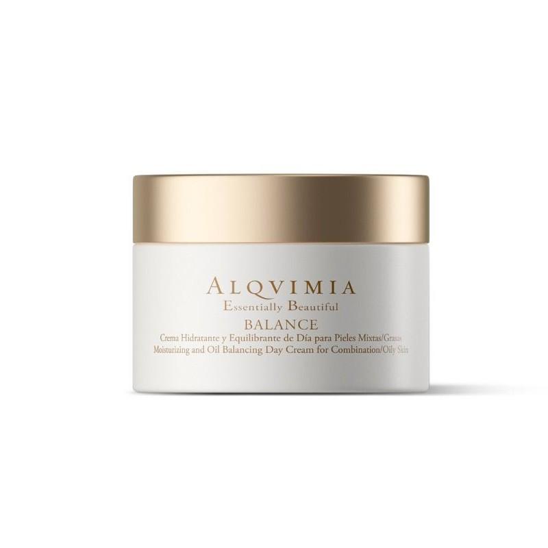 Crema Balance Piel Mixta Alqvimia, 50 ml.