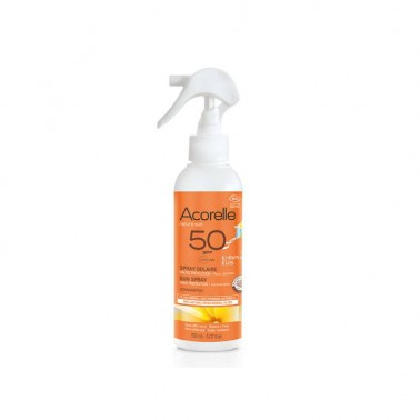 Spray Solar Niños SPF50 Bio Acorelle, 150 ml.