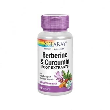 Berberine Curcuma 600 mg. Solaray, 60 cap.