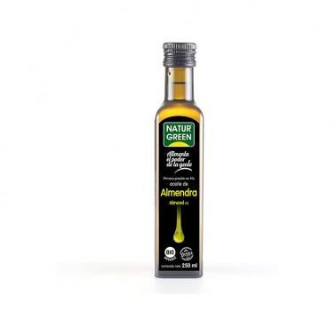 Aceite de Almendras 1a presión en frío NaturGreen, 250 ml.