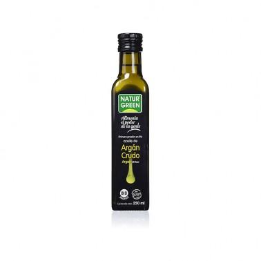 Aceite de Argán Crudo 1a presión en frío NaturGreen Bio, 250 ml.