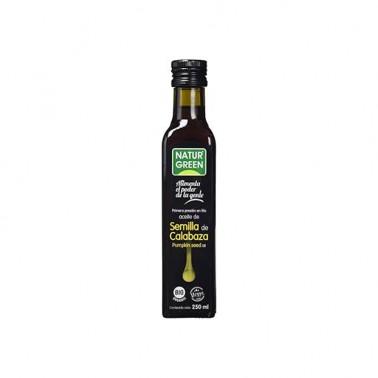 Aceite de Calabaza 1a presión en frío NaturGreen Bio, 250 ml.