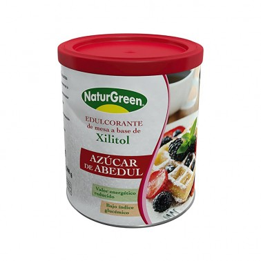 Azucar de Abedul Xilitiol NaturGreen Bio, 500 gr.