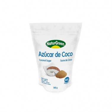 Azúcar de Coco NaturGreen Bio, 300 gr.