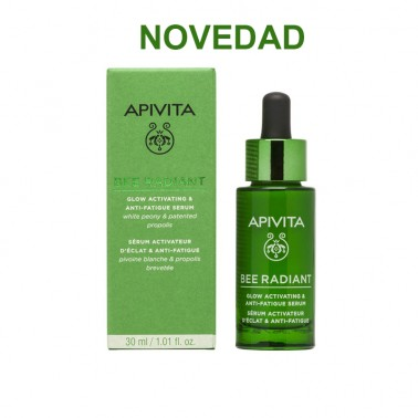 APIVITA Bee Radiant Sérum Luminosidad y Antifatiga, 30 ml.