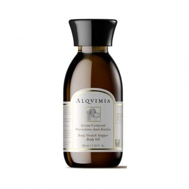 Aceite Corporal Preventivo Antiestrias Alqvimia, 150 ml.