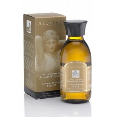Aceite Corporal Relajante de Lavanda Alqvimia, 150 ml.